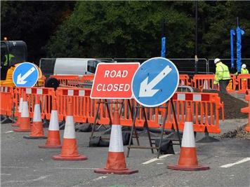 - A5 Roadworks - Weedon to Towcester